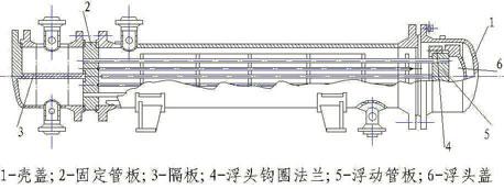 浮头式换热器结构图