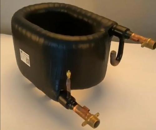 冷水机组套管换热器