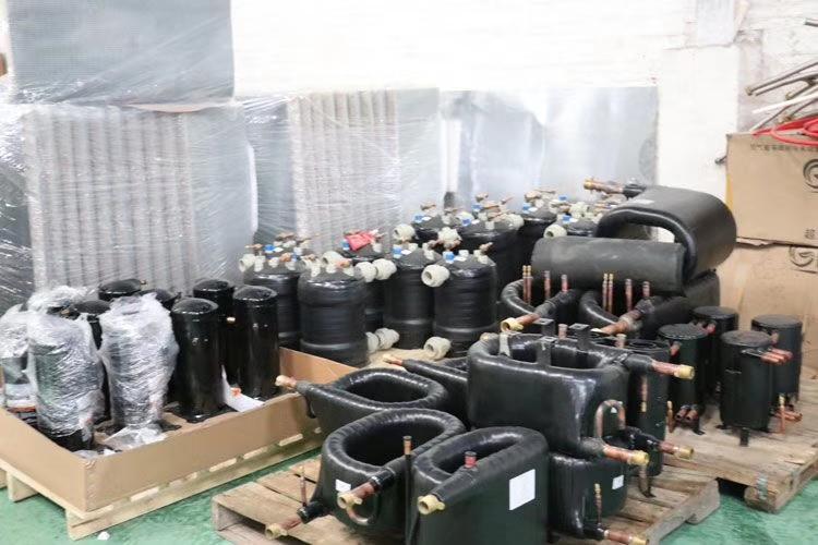 超低温热泵套管换热器