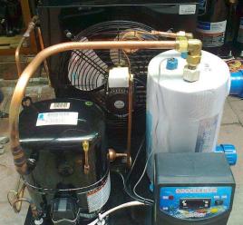 船舶制冷储液器