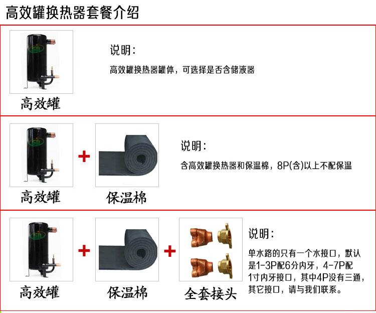壳管式高䇅罐换热器配件